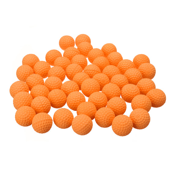 50Pcs Orange Round Replace Ball For Nerf Rival Apollo Zeus Toy