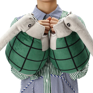 1 Pair Costumes Grenade Gloves Stuffed Plush Toy Cosplay Prop Christmas Novelty Gift