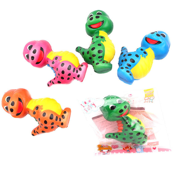 Squishy Dinosaur Random Color 12.5*8*5.5cm Slow Rising Toy With Packing Bag