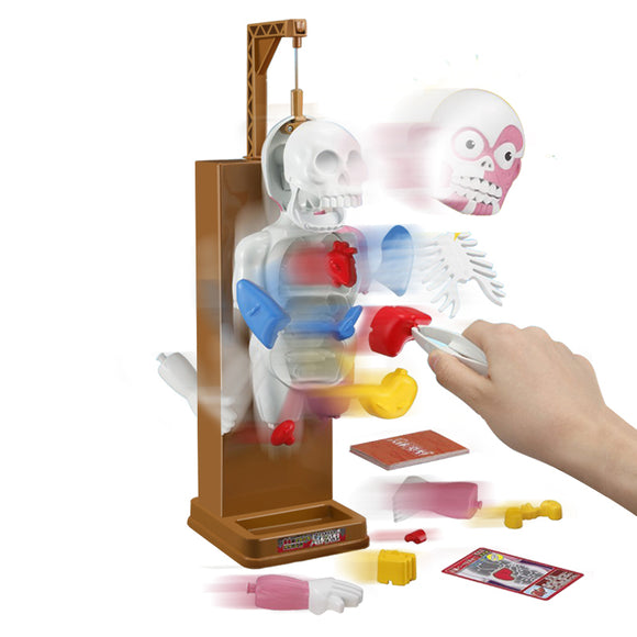 Scary Human Body Model Trick Joke Game Creepy 3D Puzzle Novelties Toys Gag Gift Assembled Toy