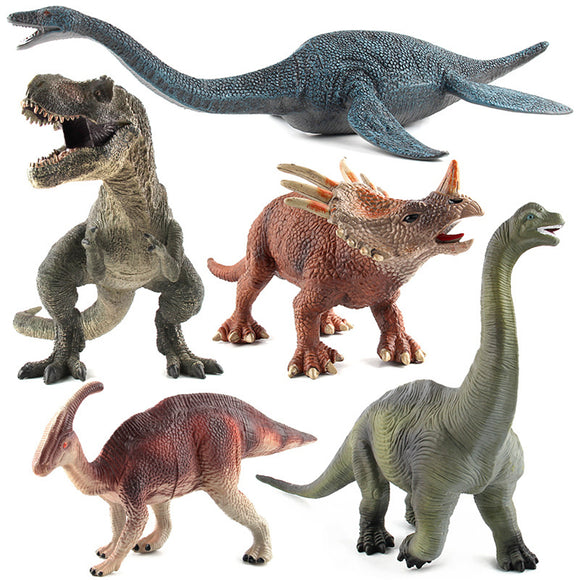 Large Brachiosaurus Dinosaur Toy Realistic Solid Plastic Diecast Model Gift To Kids
