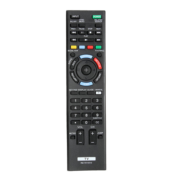 Replacement TV Remote Control for Sony RM-YD103
