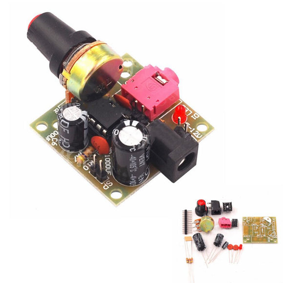 3pcs LM386 DC 3-12V 3.5mm Super Mini Audio Amplifier Board Module Audio Power Electronic Kit