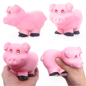Fan Pig Squishy 13.2*8.2CM Soft Slow Rising With Packaging Collection Gift Toy