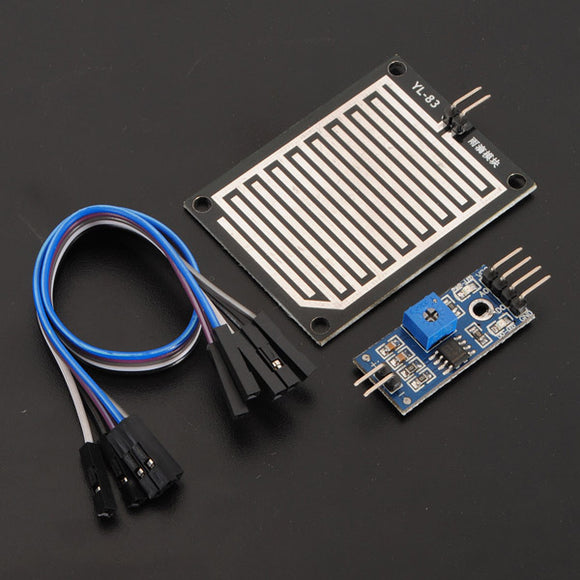 2Pcs Snow Raindrops Humidity Weather Detect Sensor Module For Arduino