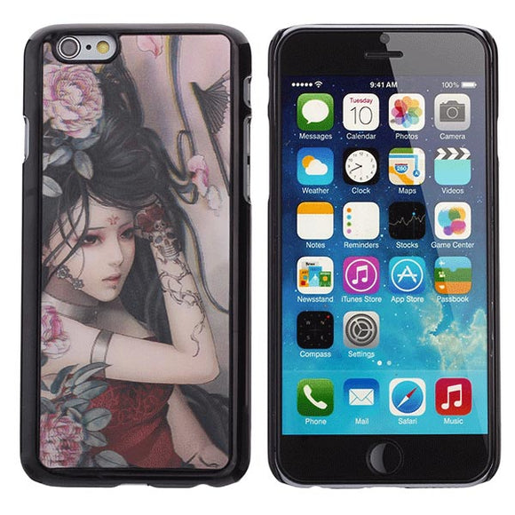Beauty 3D Patterns Protection Case PC Back Cover For iPhone 6