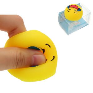 Mochi Squishy QQ Expression Squeeze Cute Healing Toy Kawaii Collection Stress Reliever Gift Decor