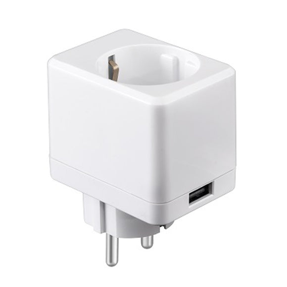 EWelink AC90-250V 10A EU/US/UK Standard White USB Mini Smart WIFI Socket