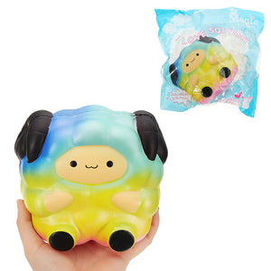 Sheep Squishy 15*13*9.5cm Slow Rising With Packaging Collection Gift Soft Toy