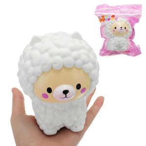 Sheep Squishy 12.5*9.5*9CM Slow Rising With Packaging Collection Gift Soft Toy