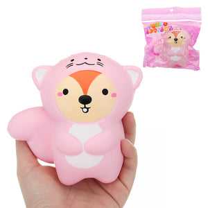 Tail Bear Squishy 10.5*11CM Slow Rising With Packaging Collection Gift Soft Toy