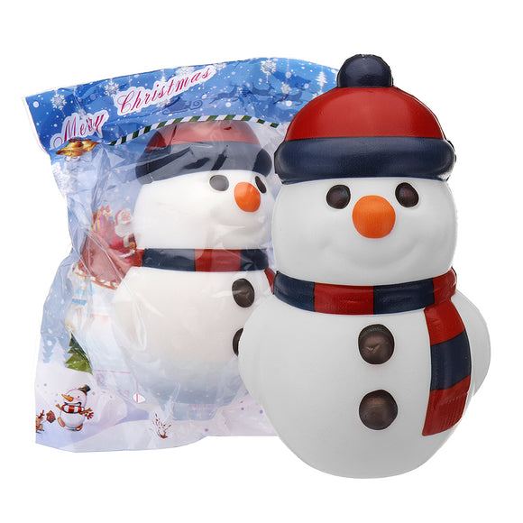 Cooland Christmas Snowman Squishy 14.49.28.1CM Soft Slow Rising With Packaging Collection Gift Toy