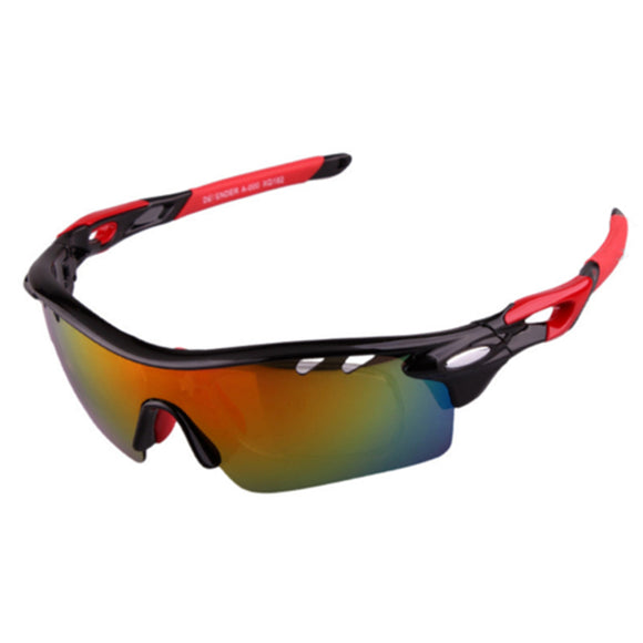OBAOLAY Polarized Sunglasses Cycling Glasses Outdoor Glasses Set