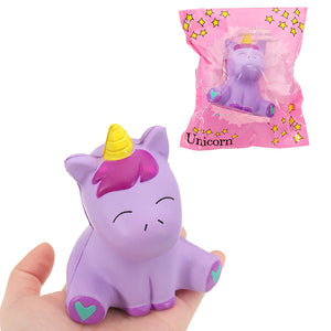 Unicorn Squishy 10.5*8.5CM Slow Rising With Packaging Collection Gift Soft Toy