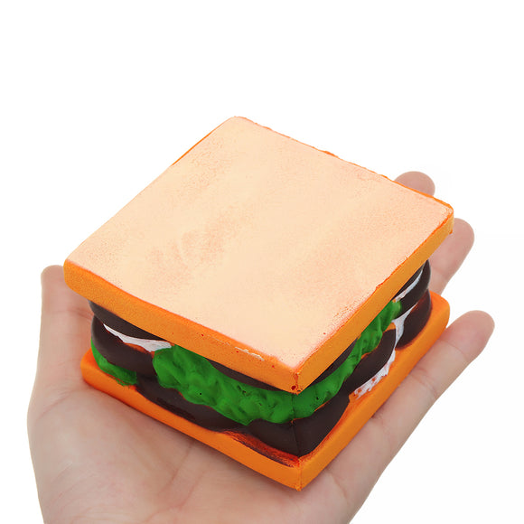 Sandwich Squishy 7.5*5CM Slow Rising Cartoon Jelly Cake Gift Collection Soft Toy