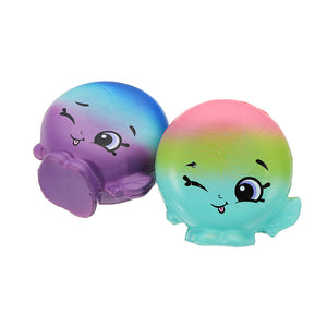 2Pcs Peppermint Drop Squishy 6.5*3.5cm Slow Rising Soft Collection Gift Decor Toy