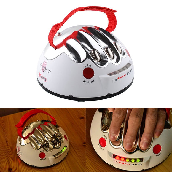 Funny Adjustable Adult Polygraph Test Electric Shock Lie Detector Party Game Reloaded Truth Shocking