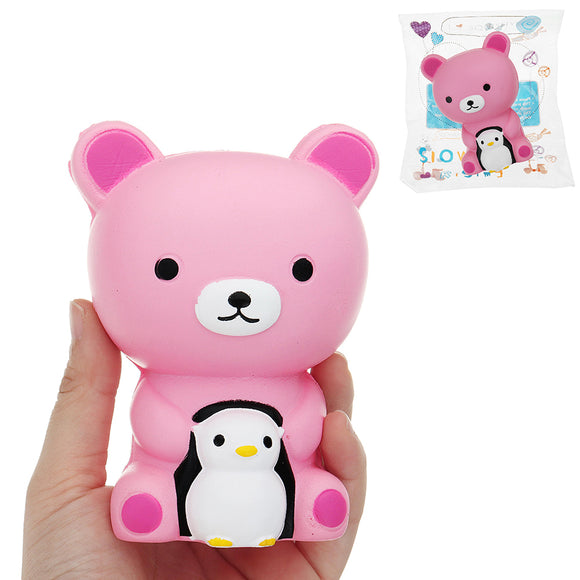 Bear Squishy 12*8 CM Slow Rising With Packaging Collection Gift Soft Toy