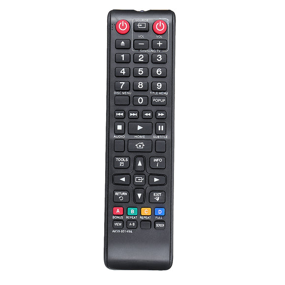 Replacement Remote Control For SAMSUNG BD-F5100 BD-E5500 BDF5100XU BD-FM51Blu-ray DVD Player