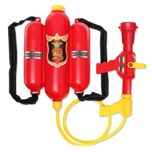 Children Fire Backpack Nozzle Water Gun Toy Guns Air Pressure Water Gun Beach Toys
