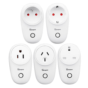 SONOFF S26 10A AC90V-250V Smart WIFI Socket US/UK/AU/EU Wireless Plug Power Sockets