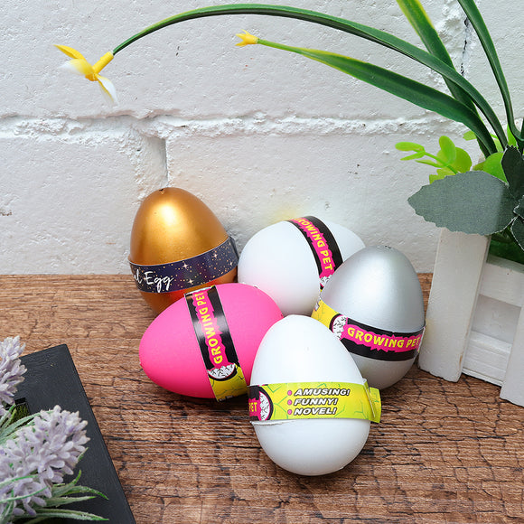 1PC Funny Magic Growing Hatching Dinosaur Egg Flamingo Penguin