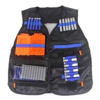 Tactical Vest Jacket Multi-Pocket Foam Motorcycle Riding Waistcoat