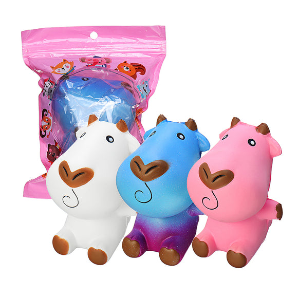 Milk Cow Squishy 11*7.8CM Soft Slow Rising With Packaging Collection Gift Toy