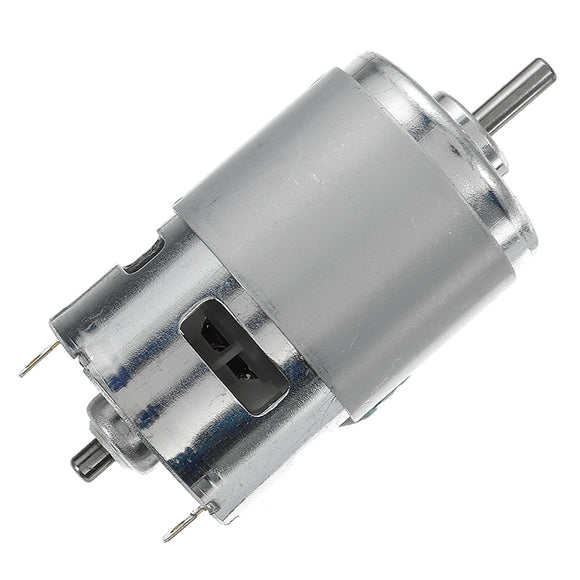 3PCS DC 24V 21000RPM High Speed Large Torque 775 Motor