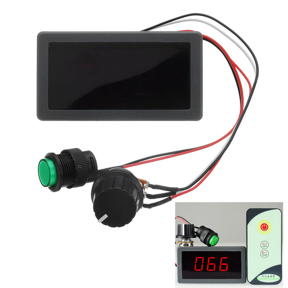 DC 6V/12V/24V 6A/8A PWM Motor Speed Controller Digital LED Display Variable Speed Regulator