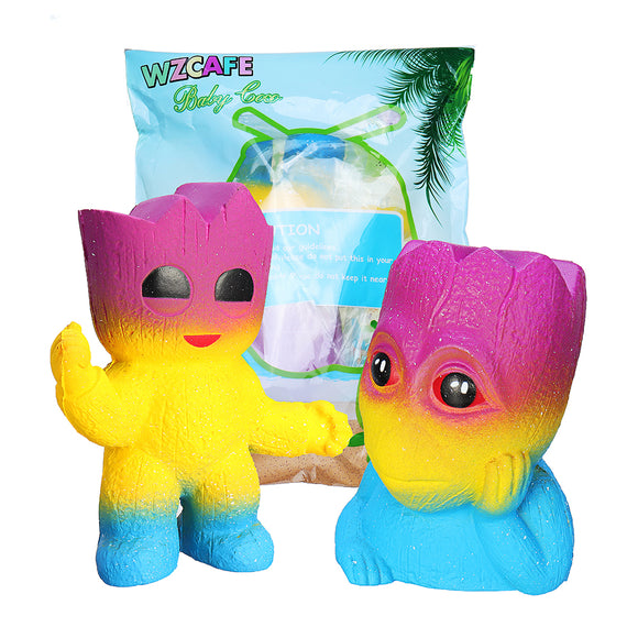 Tree Man Squishy 12.8*11CM Soft Slow Rising With Packaging Collection Gift Toy