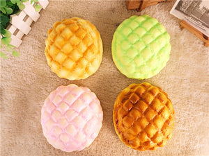 Bread Squishy Pineapple Bun 13CM Slow Rising Melonpan Gift Decor Soft Toys
