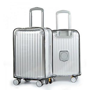 Honana HN-0828 PVC Clear Luggage Cover Waterproof Scratch Heat Resistance Suitcase Protector