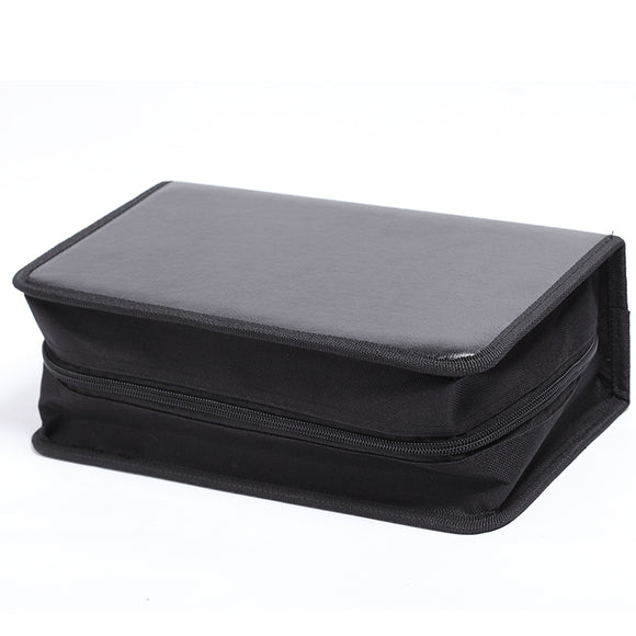 128 Piece High-end PU Imitation Leather Package CD Storage Bag