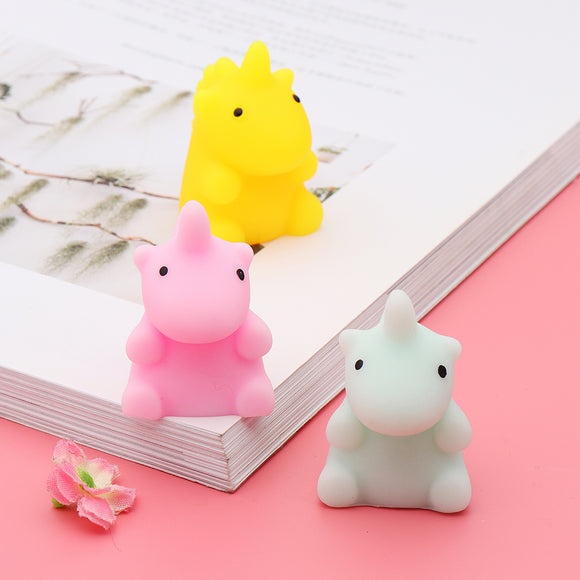 Mochi Squishy Little Monster Squeeze Cute Healing Toy Kawaii Collection Stress Reliever Gift Decor