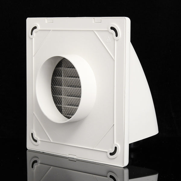 100mm/125mm/150mm ABS Air Vent Grille Ventilation Cover Wall Grilles Cowl Ventilation Cover