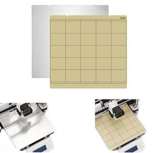 253.8x241mm Mk3 Mk52 Heated Bed Sheet + Platform Sticker With 3M Backing Glue For 3D Printer Part