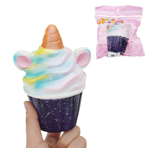 Squishy Unicorn Ice Cream 13.cm  Slow Rising Soft Collection Gift Decor Toy For Kid