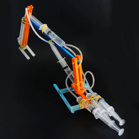 DIY Hydraulic Excavator Robot DIY Educational Toy Robot Assembled Toy Gift For Children