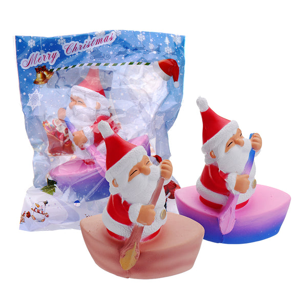 Cooland Christmas Rowing Man Squishy 12.410.27.5CM Soft Slow Rising With Packaging Collection Gift