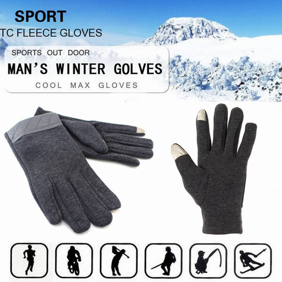 Men Winter Touch Screen Gloves Full Finger Mittens For iPhone 6/6S Plus iPhone 6/6S Tablet