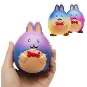 Rabbit Squishy 9.8*7.5 CM Slow Rising Children Decompression Soft Gift Collection Toy
