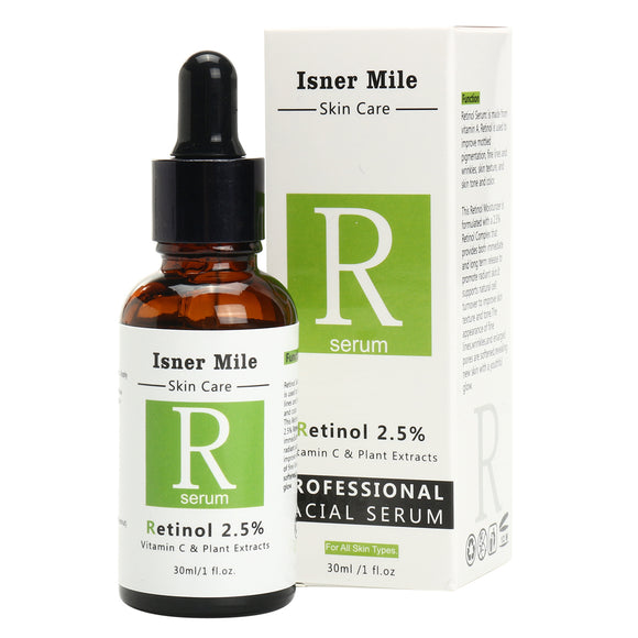 Isner Mile Retinol Serum Moisturizers Serums Anti Wrinkle Vitamin C Hyaluronic Acid Plant Extract