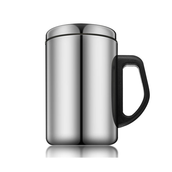 350ml Stainless Steel Insulated Tea Cup Thermal Coffee Milk Water Thermos Mug