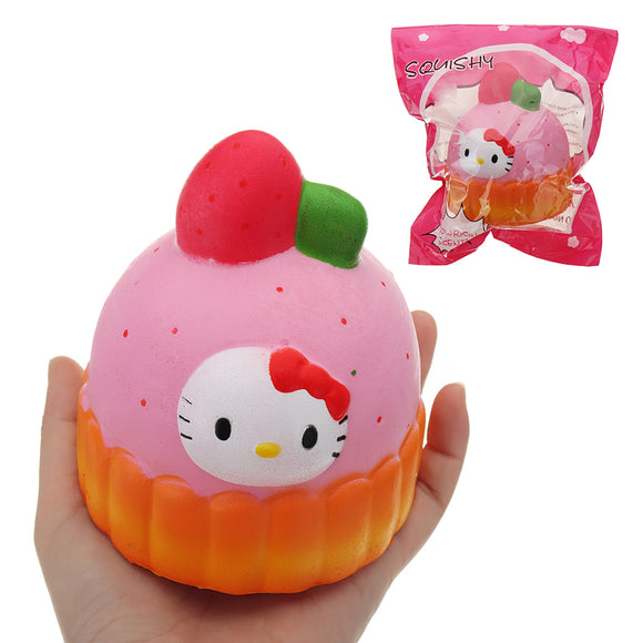 Girls Cake Squishy 12*10CM Slow Rising With Packaging Collection Gift Soft Toy