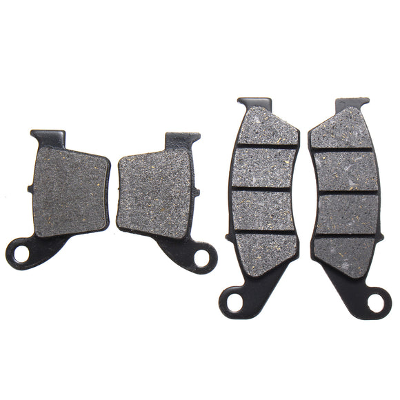 Front+Rear Brake Pads For Honda CRF250R RA RB Kevlar 125 150 250 450 2004-2015