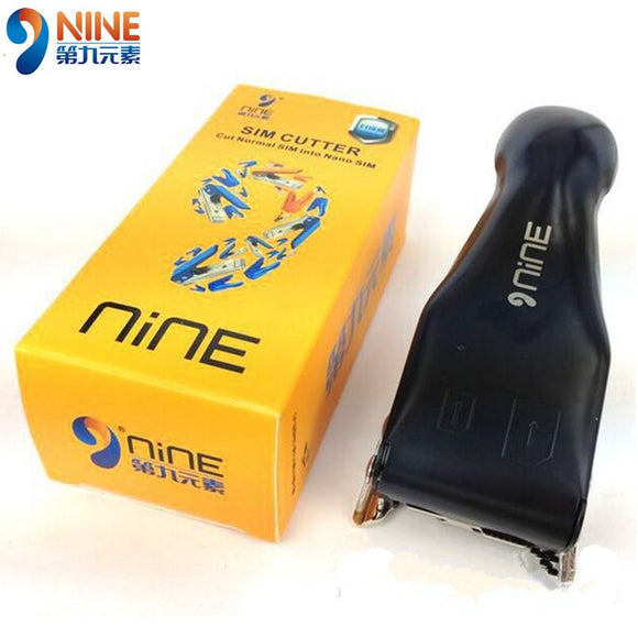 NINE Dual 2 In 1 Micro Nano SIM Card Cutter And Three Adapters For iPhone 4s/5/6 HTC Nokia Samsung M