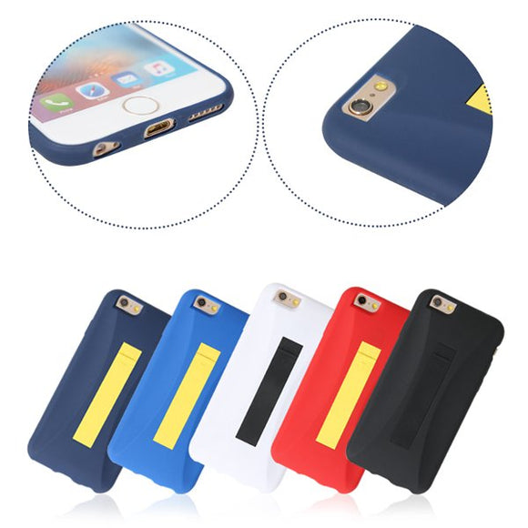 TPU Shockproof Back Case Cover With 8Pin Lightning To USB Cable For iPhone 6/6s Plus 5.5 Inches