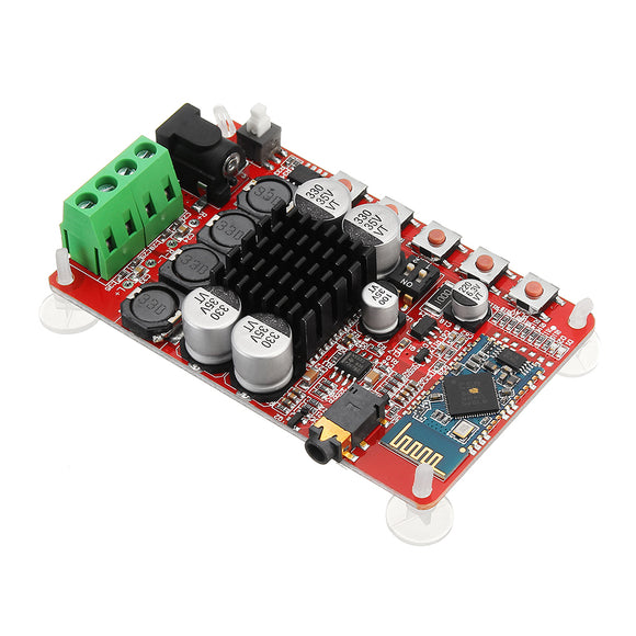3Pcs 50W+50W TDA7492 CSR8635 Wireless Bluetooth 4.0 Audio Receiver Amplifier Board NE5532 Preamp