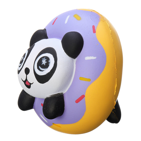 Panda Donut Squishy 8.8*8.8*7cm Soft Slow Rising Collection Gift Decor Toy